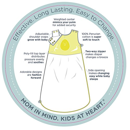 "Baby Sleep Bag from Nested Bean: Zen Sack ""Premier"". 100% Cotton Wearable Baby Blanket. Lightly ..."