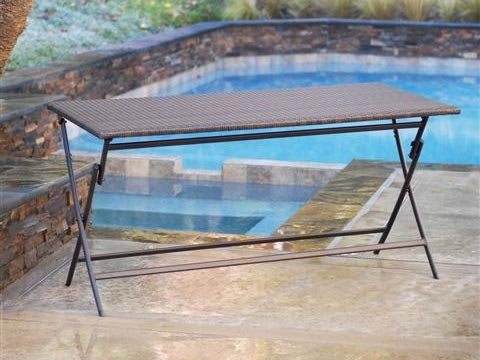 RST Outdoor OP-PEFT2759 Perfect Folding Table Patio Furniture