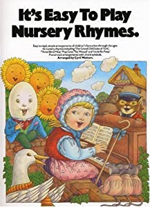 Its Easy To Play Nursery Rhymes from Music Sales Ltd