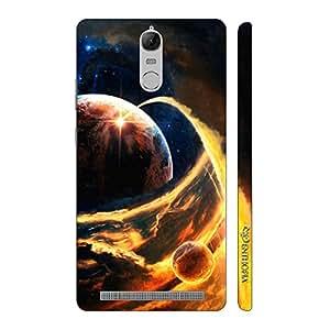 Enthopia Designer Hardshell Case Jupiter compared to Earth Back Cover for Lenovo Vibe K5 Note