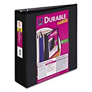 Durable View Binder with Slant Rings, 3