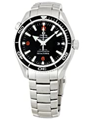 Omega Men's 2201.51.00 Seamaster Black Dial Watch
