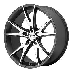 17×8 American Racing AR903 (Gloss Black Machined) Wheels/Rims 5×114.3 (AR90378012338)