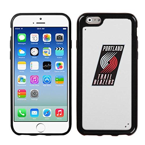 Iphone 6 [ 4.7 Inch ] Black White King Case Portland Trail Blazers