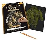 Royal and Langnickel Gold Engraving Art, Horses