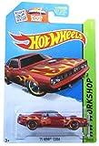 Hot Wheels, 2013 HW Workshop, '71 Hemi 'Cuda [Maroon] Die-Cast Vehicle #210/250