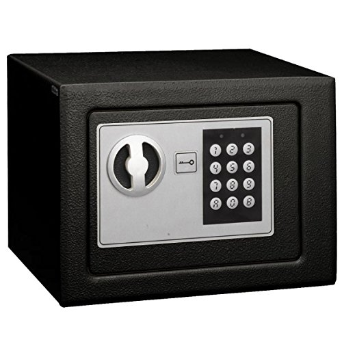 Super Buy Small Digital Electronic Safe Box Keypad Lock Home Office Hotel Gun Black
