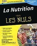 La nutrition pour les Nuls - �dition...