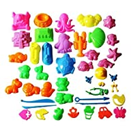 Mukool 46pcs Deluxe Mold Activity Set…