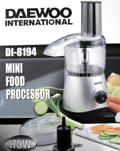 DEAWOO MINI FOOD PROCESSOR (DI-8194) FOR USA AND CANADA (110 VOLTS)