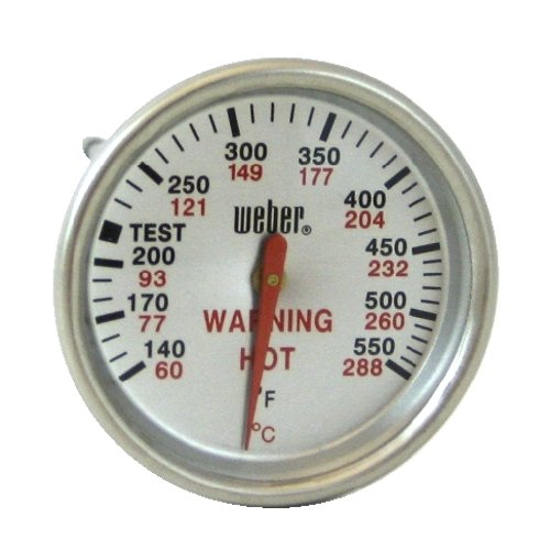 New Weber 9815 Replacement Thermometer