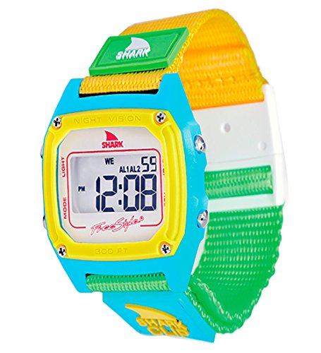 Freestyle Women's FS84862 Shark Clip Multicolored Digital Watch with Canvas Band (Womens Shark Clip Watch compare prices)