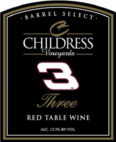 NV Childress Vineyards Barrel Select Three Red Table Wine 750 mL (Red Table Wine compare prices)