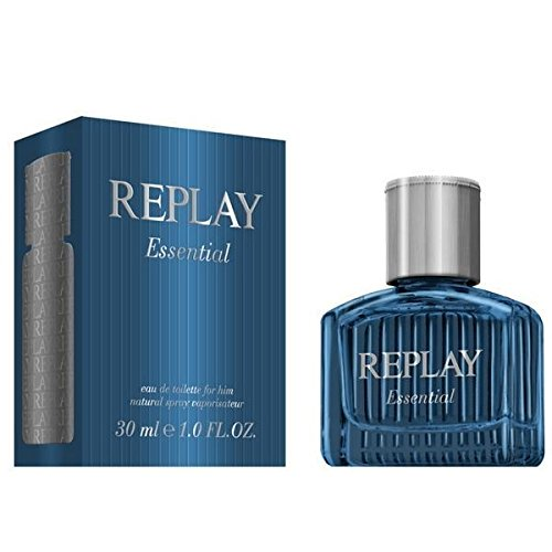 Replay, Essential, Eau de Toilette da uomo, 30 ml