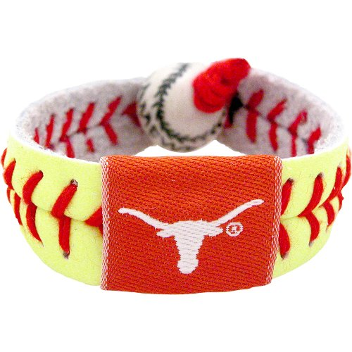 Texas Longhorns Classic Softball Bracelet