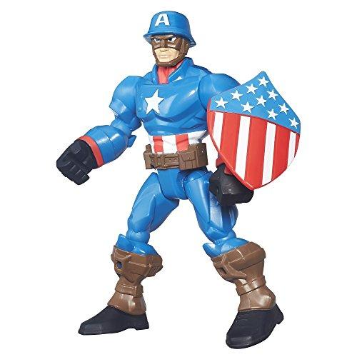 Marvel Super Hero Mashers Captain America Figure (Super Hero Mashers Electro compare prices)
