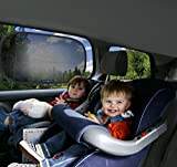 Car-Sun-Shade-2-Pack-Black-Sunshade-Visor-Set-for-Babies-Kids-Clings-To-a-Rear-Side-Window-And-Covers-Your-Baby-Or-Toddler-Shades-Block-98-Of-UV-Heat-Rays-Glare-In-Cars-LIFETIME-WARRANTY
