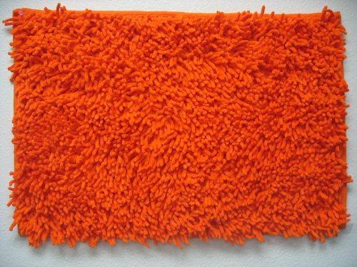 Dada Bedding Mat36X60Orange 100-Percent Cotton Chenille Rug, 3 By 5-Feet, Orange front-735039