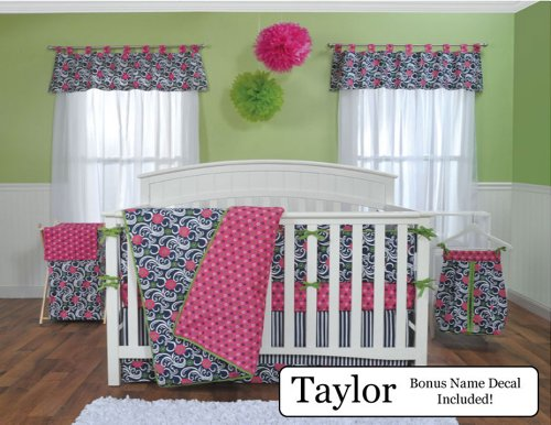 Baby Girl Nautical Bedding 96740 front