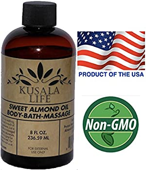 Sweet Almond Oil - Luxurious Bath and Body Oil - Relaxing Massage Oil