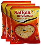#8: Big Bazaar Combo - Saffola Masala Oats Pepper and Spice, 40g (Pack of 3) Promo Pack