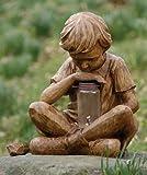 51uo9n9a%2BBL. SL160  Boy with Firefly Garden Statue