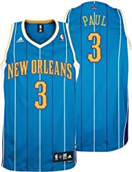 Chris Paul Adidas NBA Hornets Teal Swingman Jersey