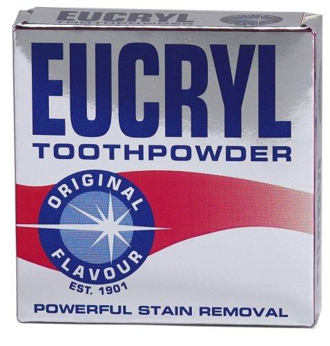 Eucryl Smokers Tooth Powder Original 50g