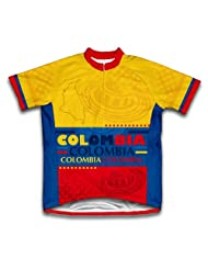 Colombia Short Sleeve Cycling Jersey for Women