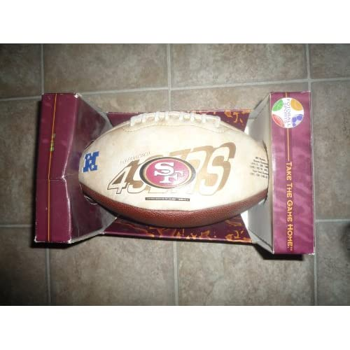 Amazon.com : San Francisco 49ers Limited edition football
