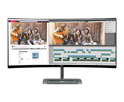 LG Electronics 34UC87C 34-Inch Screen Ultra Wide Curved LED-Lit Monitor