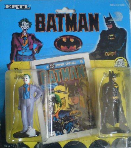 Ertl Collectibles Batman and Joker Diecast Figures - 1