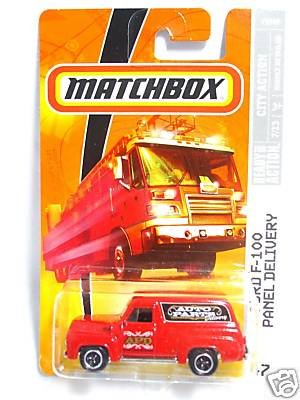 Matchbox Ford F-100 Panel Auto Parts Delivery # 47, 2008 City Action, 1:64 Scale. - 1