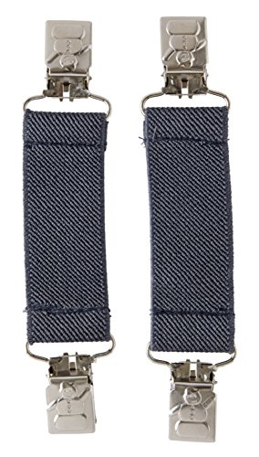 Sportoli™ Kids Elastic and Metal Glove and Mitten Clips with Snowman Accent - Charcoal (Cinch Clip compare prices)
