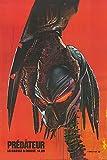 "Predator (French) - Authentic Original 27"" x 40"" Movie Poster"