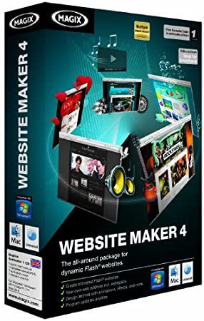 Magix Website Maker 4.0 (MAC/PC)