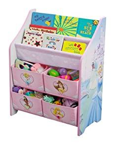 Disney Princess Book And Toy Organizer by Delta Enterprise