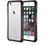 iPhone 6 Case - Exact Apple iPhone 6 4.7 Case [CLOUD Series] - Hybrid Cushioned Bumper Case for Apple iPhone 6 (4.7-inch) Gunmetal Black/Gray
