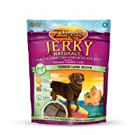 Zuke's Jerky Naturals Dog Treats, Ten…