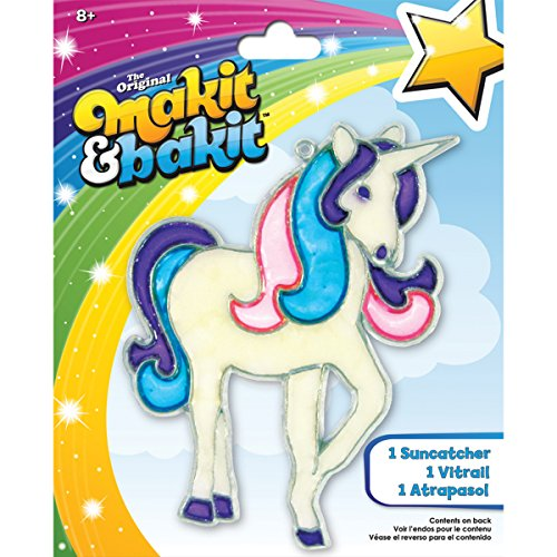 Makit & Bakit Glittering Suncatcher Kit - Unicorn - 1