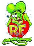 Rat Fink Decal