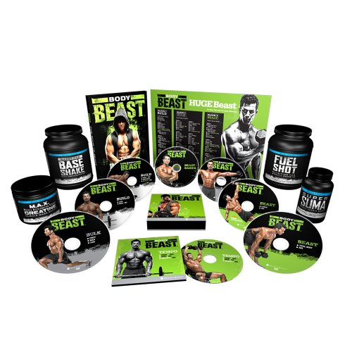 Body Beast Dvd Workout With 4 Supplements - Ultimate Kit