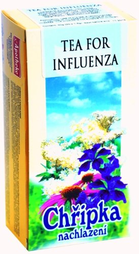 Flu Cold Influenza Herbal Blend by Apotheke 20 Tea Bags