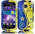 Samsung illusion I110 Samsung Galaxy Proclaim S720 Rubberized Design Cover - Royal Swirl