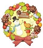 フクサン デコクラフト リースキット クリスマスリース SFD-1076
