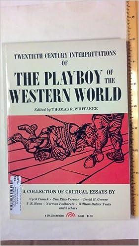 Critical essay playboy western world