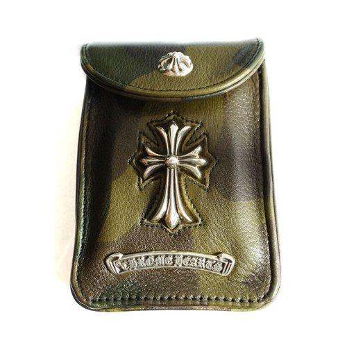 レアな迷彩柄 クロムハーツ CHクロス シガレットケース / CHROME HEARTS CH cross cigarette case[並行輸入品]