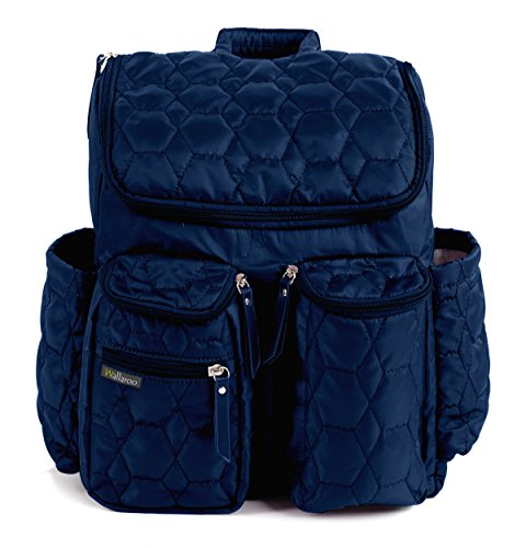 wallaroo-diaper-bag-backpack-with-stroller-straps-wet-bag-and-diaper-changing-pad-for-women-and-men-