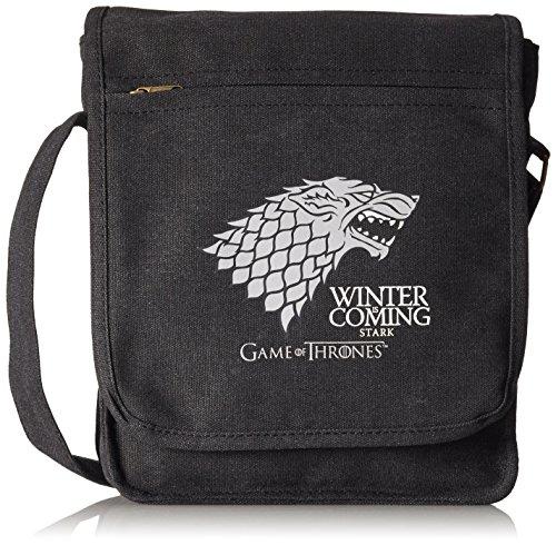 Juego de Tronos bandolera Messenger Bag - se acerca el invierno Stark Logo