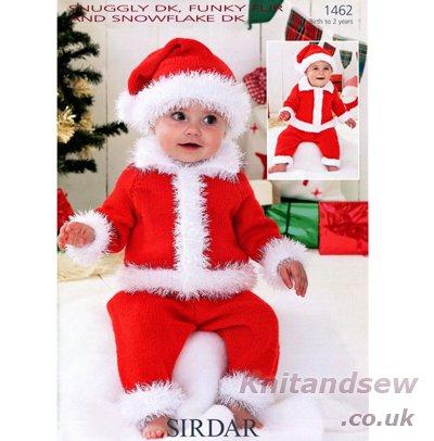 Sirdar Snuggly DK Funky Fur und Snowflake DK Strickmuster 1462